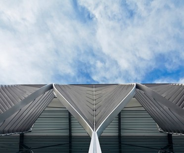 Zaha Hadid Architects, NürnbergMesse, Halle 3C