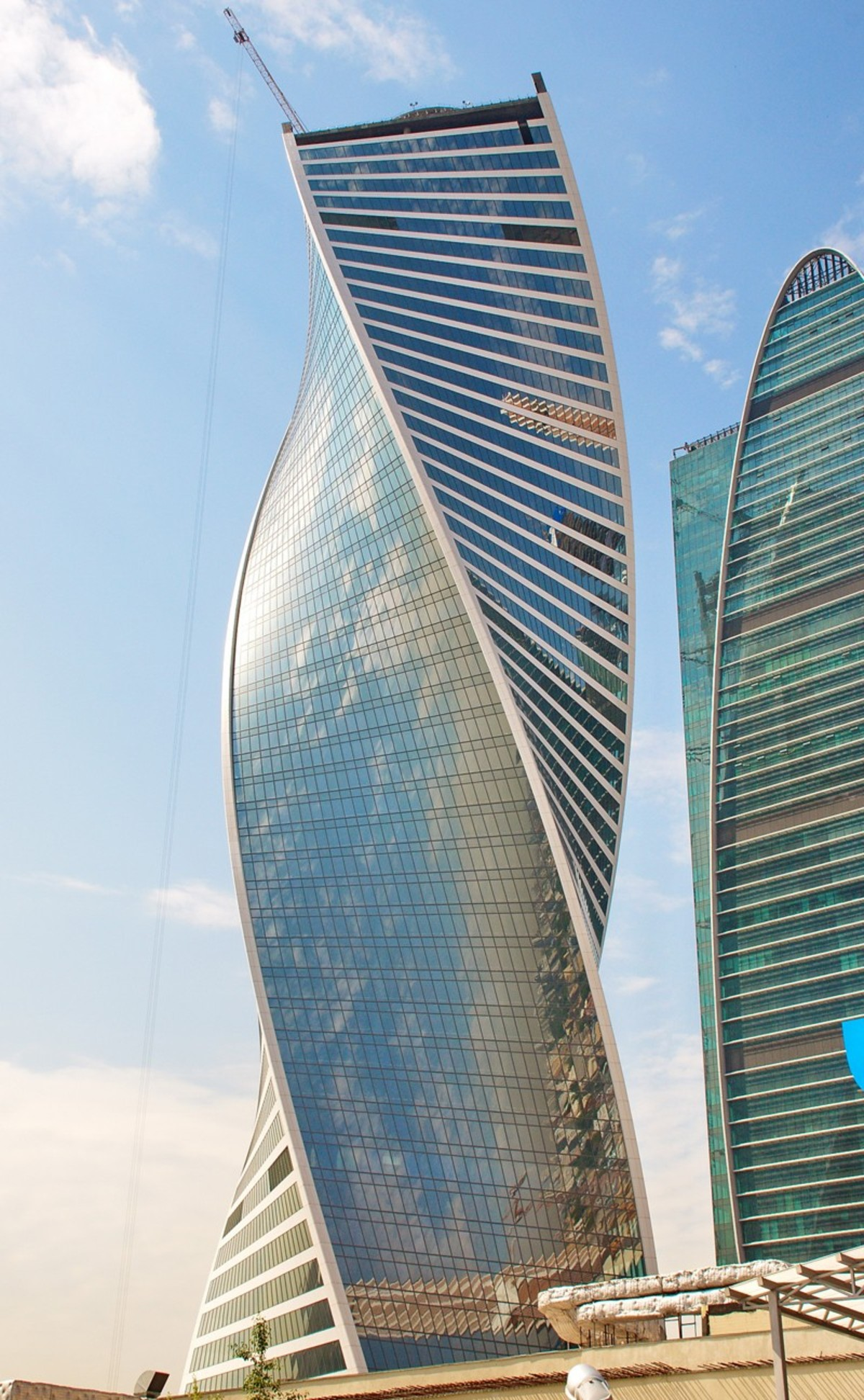 Rmjm Evolution Tower Moscou Floornature