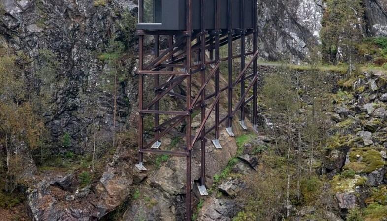 Peter Zumthor, Allmannajuvet, Routes Nationales Touristiques, Norvège