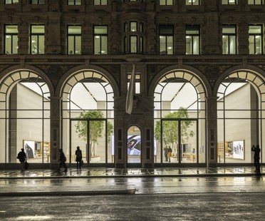 Foster + Partners Apple Flagship Store Regent Street Londres