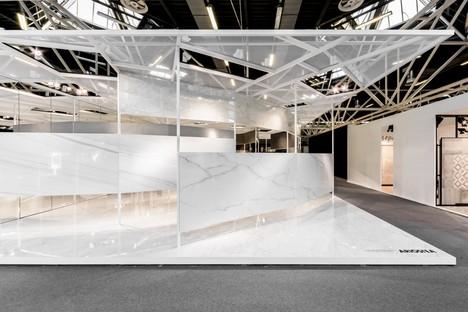 Ariostea Twister Pavilion surfaces Ultra pour le Cersaie 2016