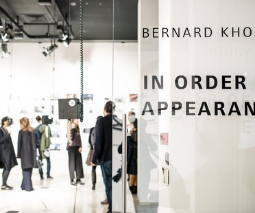 Inauguration de l'exposition Bernard Khoury à SpazioFMGperl'Architettura