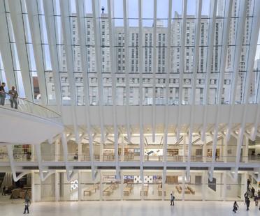 Bohlin Cywinski Jackson, Apple Store in the World Trade Center Oculus