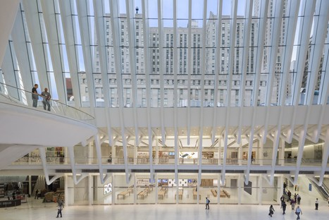 Bohlin Cywinski Jackson, Apple Store in the World Trade Center Oculus