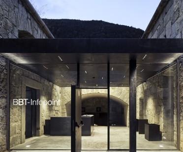Markus Scherer, Infopoint BBT, Rénovation du Fort de Fortezza, Bolzano