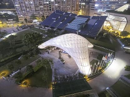 ZCB Bamboo Pavilion, Université Chinoise de Hong Kong, Ecole d'Architecture