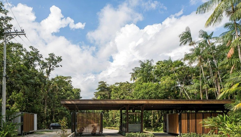 Apiacás Arquitetos, Pavillon Una à Barra do Una, Brésil