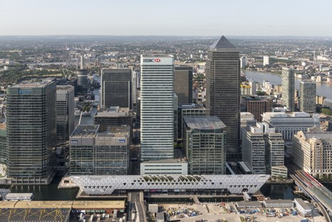Foster + Partners, Crossrail Place - Canary Wharf - Londres