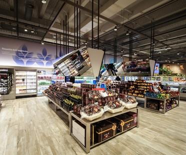 Area-17, Carlo Ratti, Iris ceramica à Milan pour le supermarché du futur