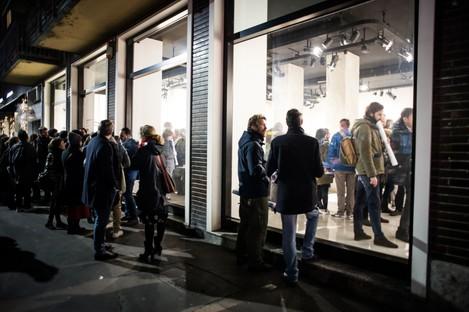 Inauguration de l'Exposition Controcampo à SpazioFMG Milano