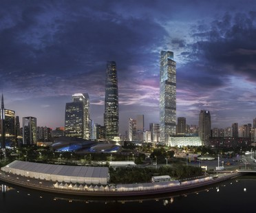 Guangzhou CTF Finance Centre, 2e gratte-ciel de Chine