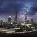 Guangzhou CTF Finance Centre, 2e gratte-ciel de Chine