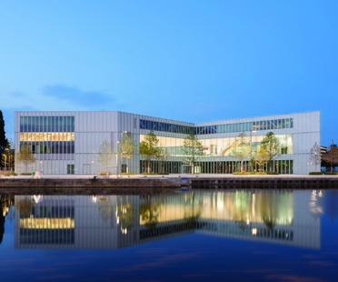 OMA, Bibliothèque Alexis de Tocqueville, Caen la mer