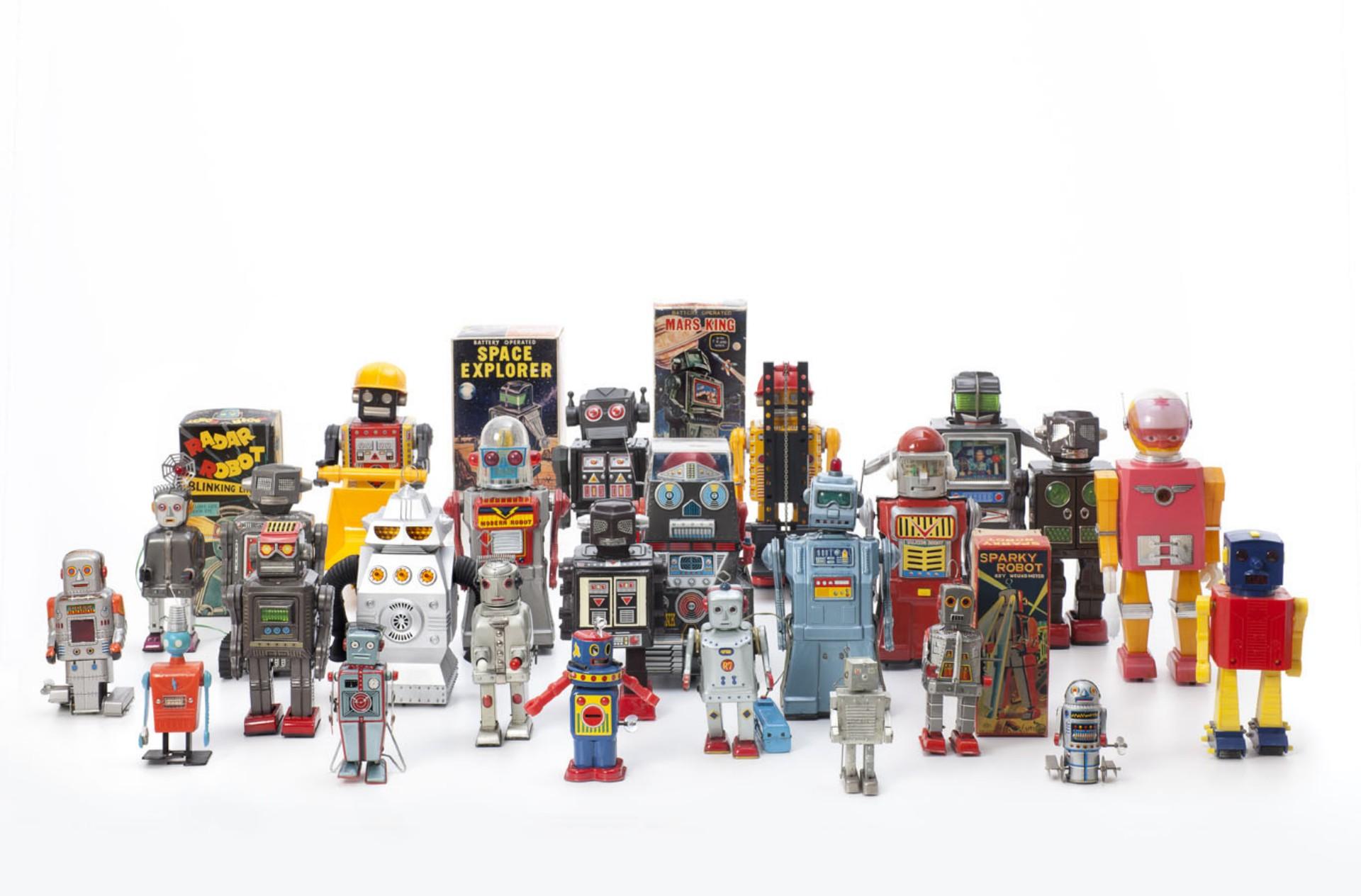 Various Manufacturers,Vintage Toy Robots 1956 – 1980 Ph Andreas Sütterlin
