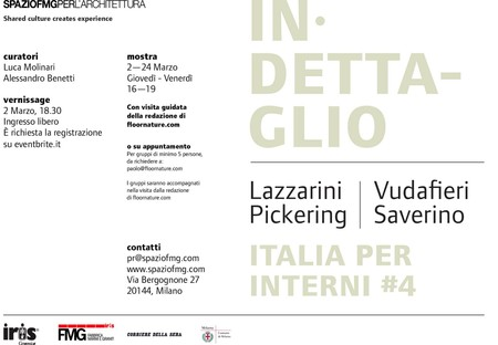 exposition Italia per Interni #4 SpazioFMG Lazzarini Pickering  Vudafieri Saverino