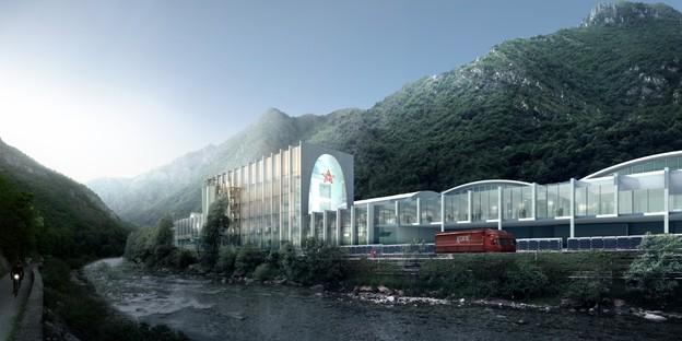 BIG – Bjarke Ingels Group signe la S. Pellegrino Flagship Factory