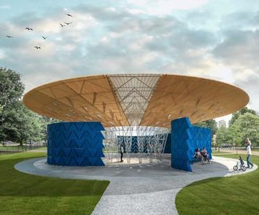 L'architecte du Serpentine Pavilion 2017 est Diébédo Francis Kéré