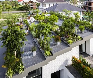 Vo Trong Nghia Architects + ICADA - Une Maison à Nha Trang