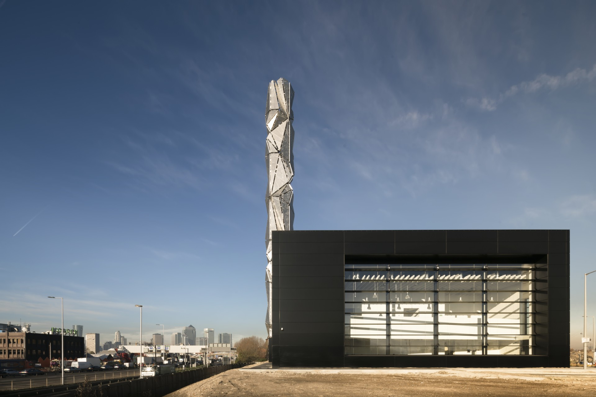 C.F. Møller Architects Art et Architecture pour le Centre Énergétique de Greenwich