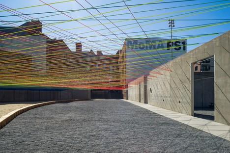 Jenny Sabin Studio Lumen  YAP 2017 MoMA PS1  New York