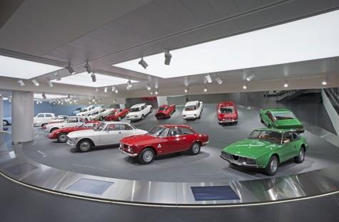 Fiandre au Mipim 2017 et le Musée Historique Alfa Romeo
