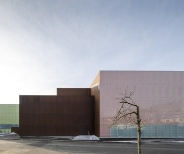Schmidt Hammer Lassen Architects Vendsyssel Theatre Hjørring Danemark