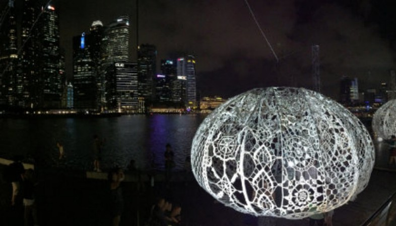 Choi + Shine, The Urchins Marina Bay, Singapour