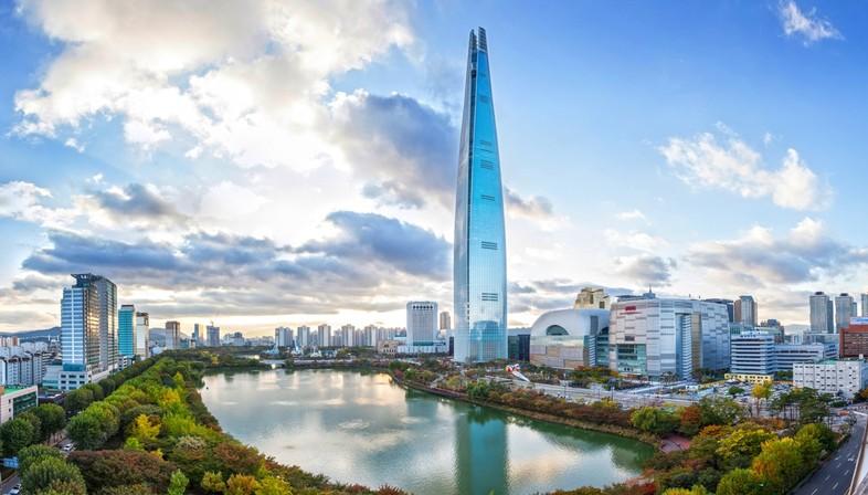 Il 5 grattacielo più alto del mondo: Lotte World Tower Seoul
