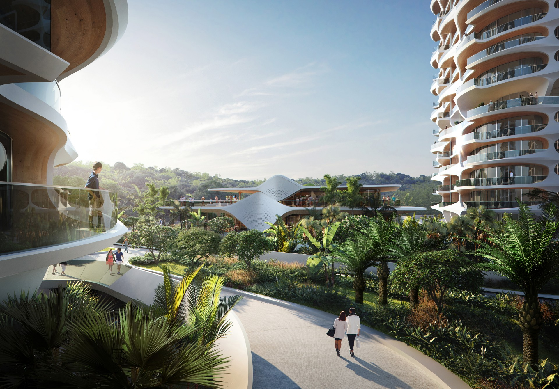 Zaha Hadid Architects Alai Mayan Riviera Mexique