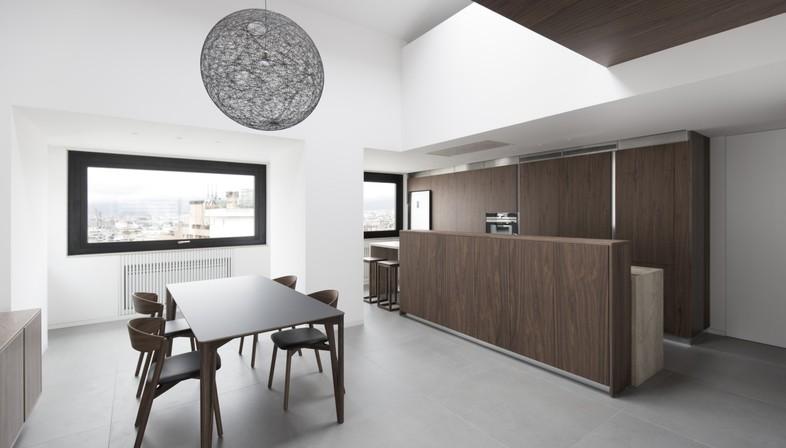 Studio DiDea projet d'intérieur pour un appartement en attique à Palerme