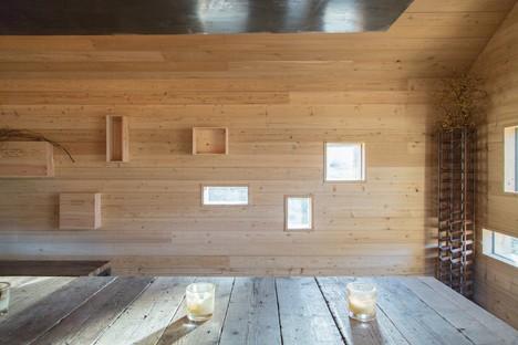 Moxon Architects une cabane moderne dans les Highlands écossaises