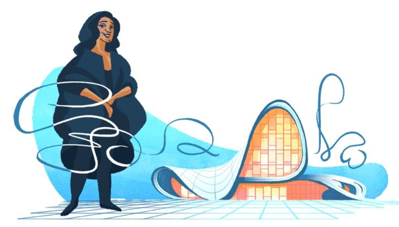 Un doodle consacr? ? Zaha Hadid