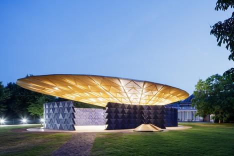 Inauguré le Serpentine Pavilion de Diébédo Francis Kéré