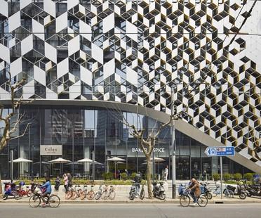 UNStudio Lane 189 nouveaux espaces de vente et de détente à Shanghai