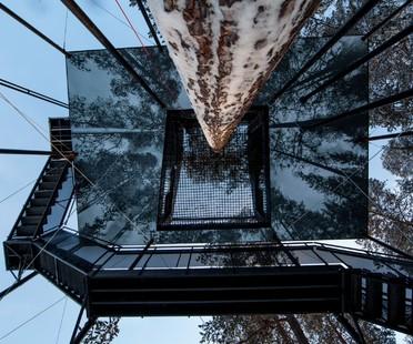Snøhetta Treehotel The 7th room, des vacances dans les arbres