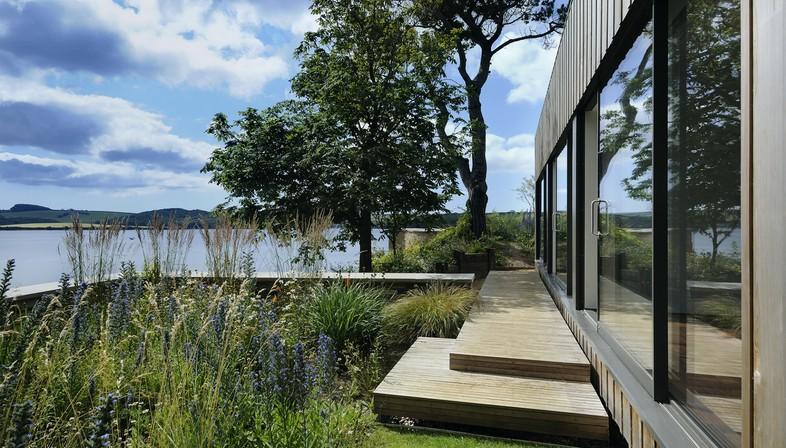 Stan Bolt Architect Maison sur un promontoire dans le comté de Devon
