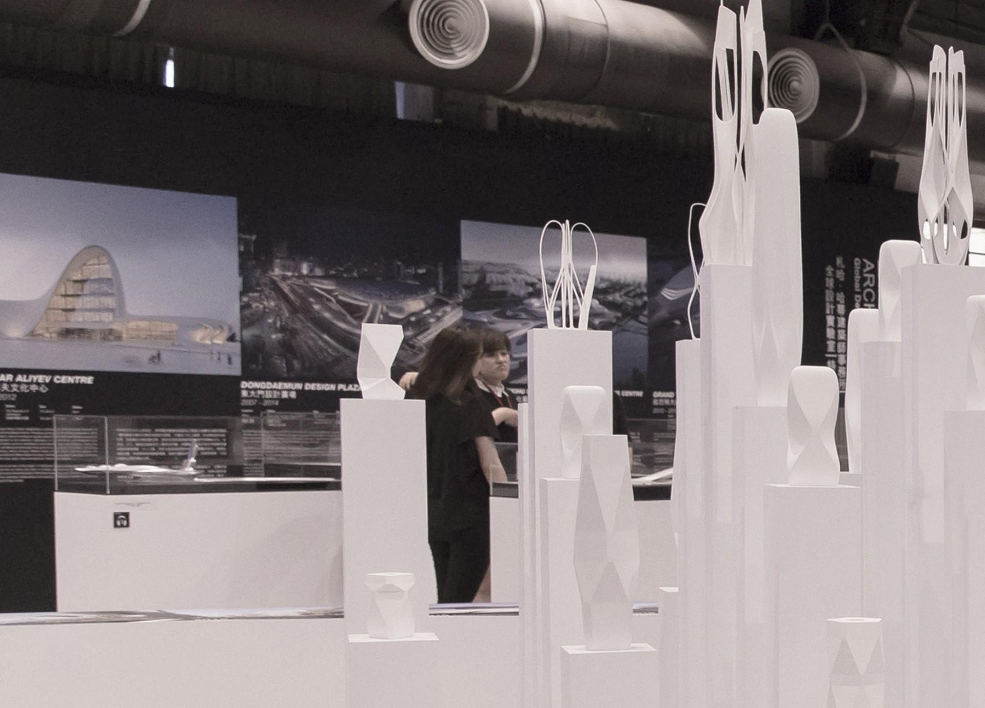 Exposition Global Design Laboratory Zaha Hadid Architects à Taipei