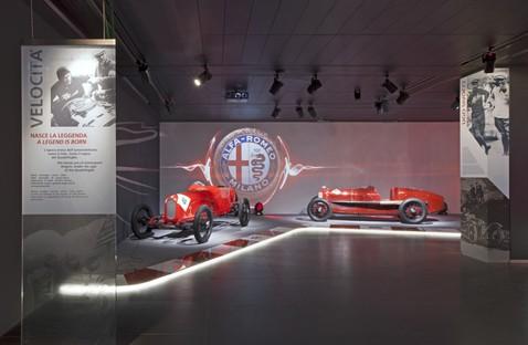 La Macchina del tempo (la Machine du temps) Musée Historique Alfa Romeo à Arese
