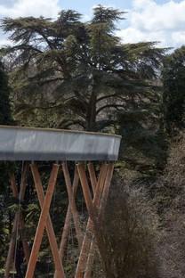 Une promenade en tête-à-tête avec les arbres Glenn Howells Architects Stihl Treetop Walkway