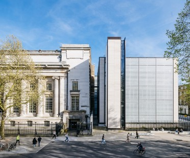 Rogers Stirk Harbour British Museum World Conservation and Exhibitions Centre Londres