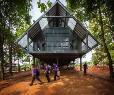 Post Disaster School par Vin Varavarn Architects remporte le prix de la Biennale Cappochin 2017