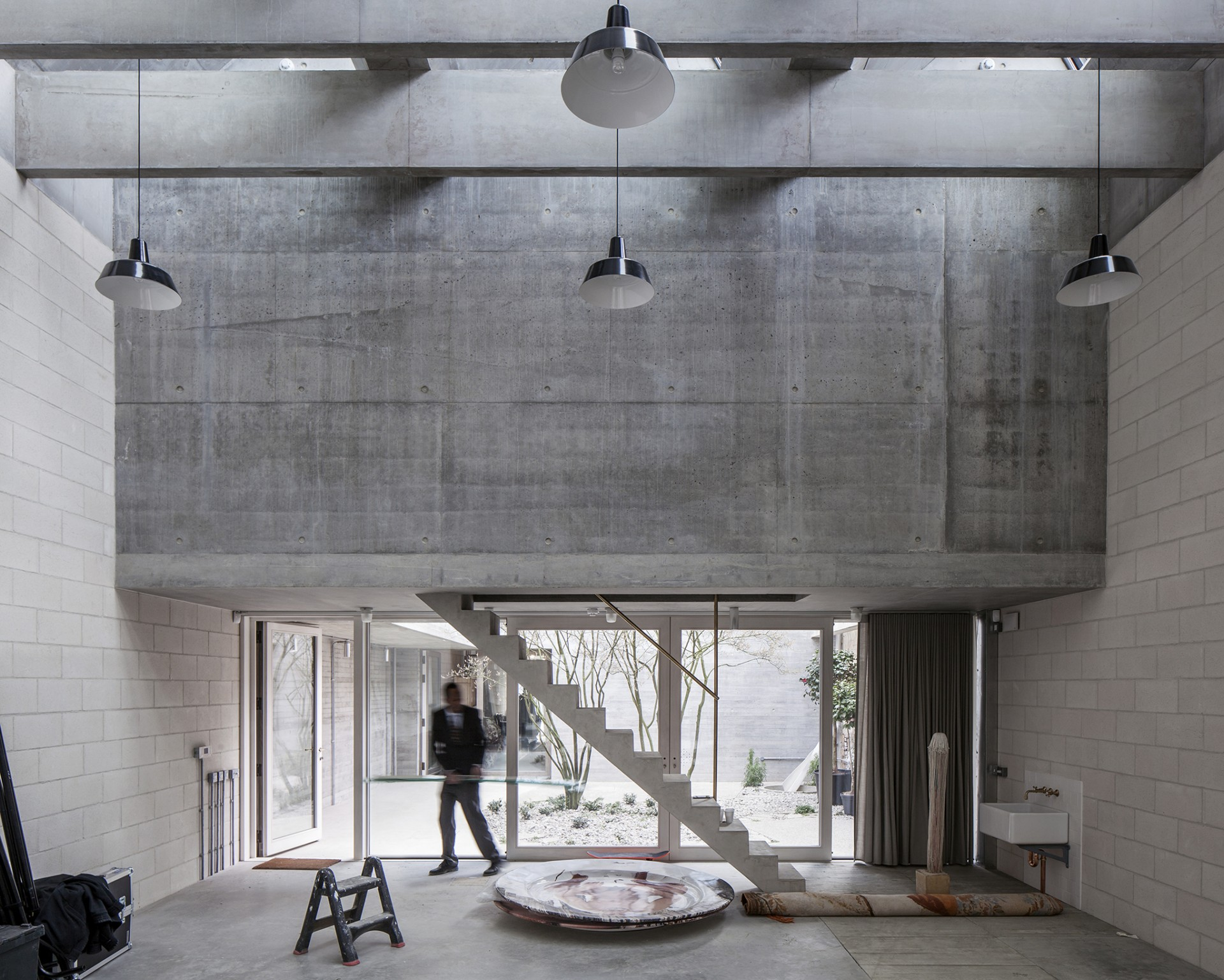 6a architects studio photo pour Juergen Teller Londres