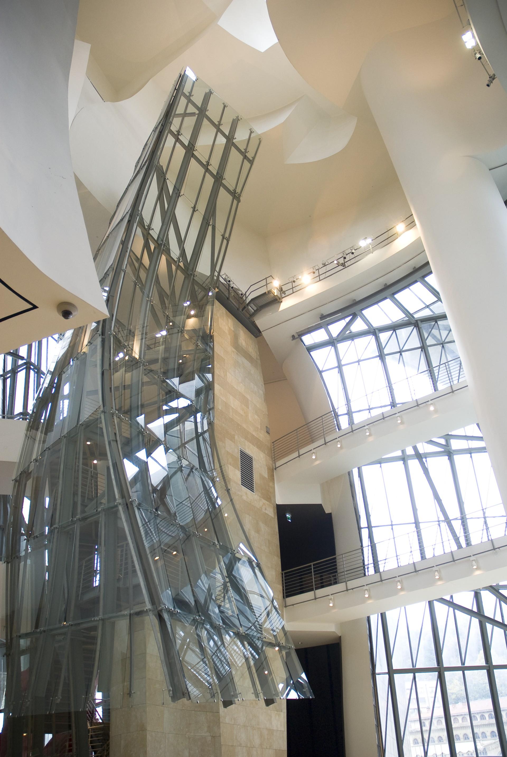 Les 20 Ans Du Guggenheim Museum Bilbao Oeuvre De Frank