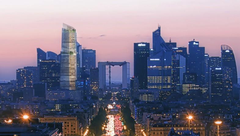 PCA-STREAM the Link nuovo landmark urbano per Parigi
