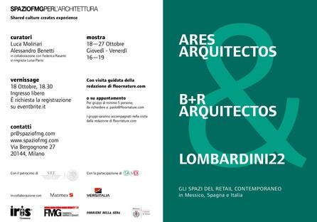 SpazioFMG exposition Ares Arquitectos, B+R Arquitectos & Lombardini22