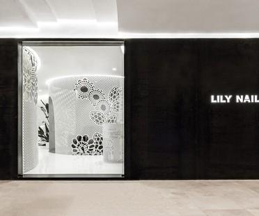 Lily Nails: pizzo nell'interior di Archstudio