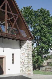 Messner Architects Église San Giuseppe nel Bosco à Stella di Renon