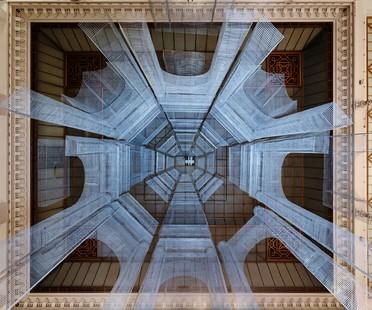 Edoardo Tresoldi Aura installazione site specific a Parigi