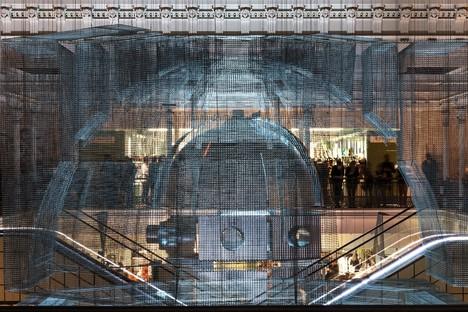 Edoardo Tresoldi Aura installation site-specific à Paris