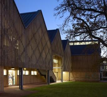 Feilden Clegg Bradley Studios réalise le bâtiment d'art et de design de la Bedales School (Hampshire)